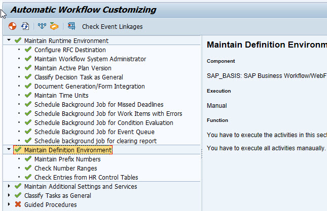 Business Workflow Customization | Technical Concepts in SAP