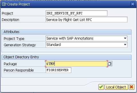 OData Basics – Part 5 (Build Service with BAPI) | Technical