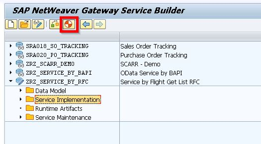 OData Basics – Part 5 (Build Service with BAPI) | Technical