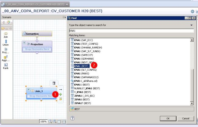 HANA – Calculation View (Dimension) | Technical Concepts in SAP